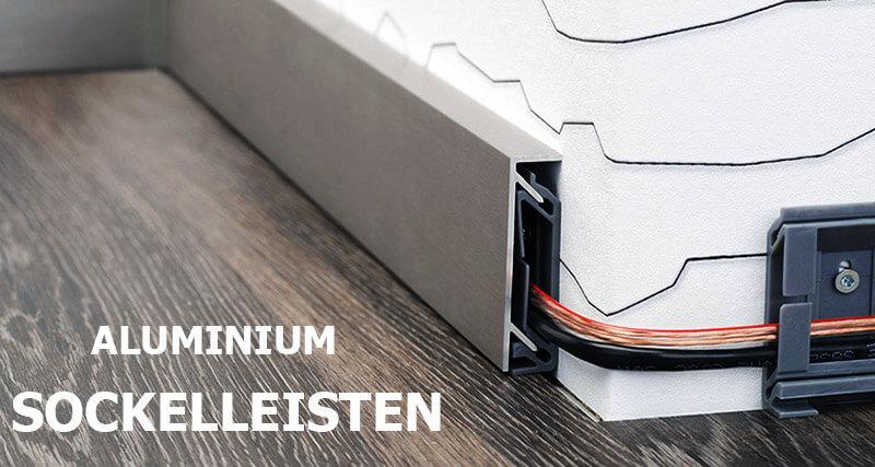 Aluminium Sockelleisten