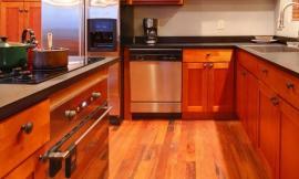 Küche Kirschholz Und Sockelleisten