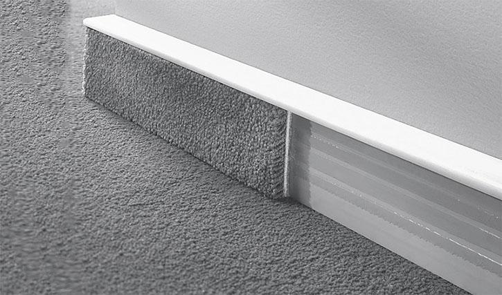 So Erneuern Sie Ihre Teppichleisten Kunststoff